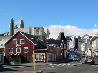 Downtown Akureyi