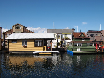 Hausboote in Victoria