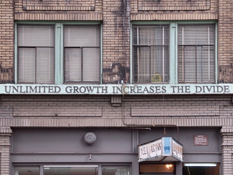 UNLIMITED GROWTH INCREASES THE DIVIDE