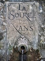 Quelle am Wegesrand - La Source de Nans