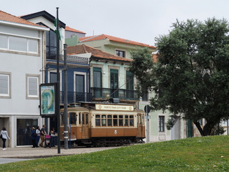 Tram in Foz do Douro