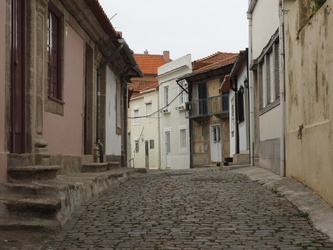 Gasse in Foz do Douro