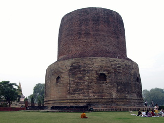Dharmekha Stupa in Sarnath