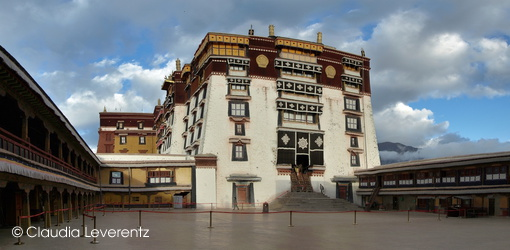 Innenhof am Potala-Palast