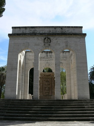 Mausoleum Gianicolensi an der Via Garibaldi