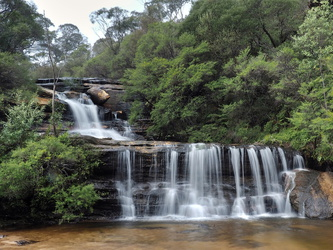 Blue Mountains NP - Wentworth Falls