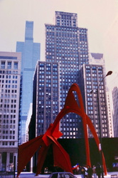 Chicago - Flamingo von Alexander Calder