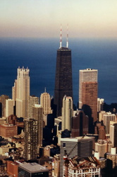 Chicago - Blick zum Sears Tower