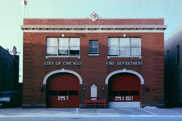 Chicago - Feuerwache in China Town