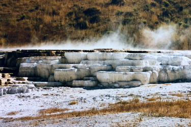 Yellowstone NP - Mammoth Hot Springs