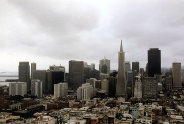 San Francisco - Ausblick vom Coit Tower