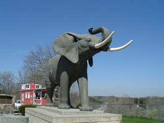 St. Thomas - Jumbo the Elephant Memorial