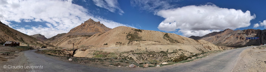 Ladakh - Panoramablick am Manali-Leh-Highway